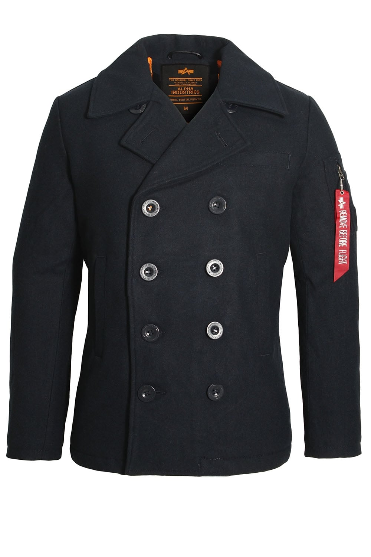 Alpha Industries Navy Peacoat Vf Jacket Buy Alpha
