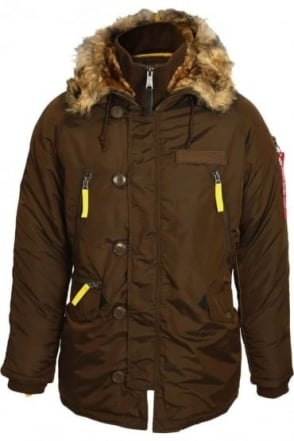 PPS N3B Cold Weather Parka   Brown