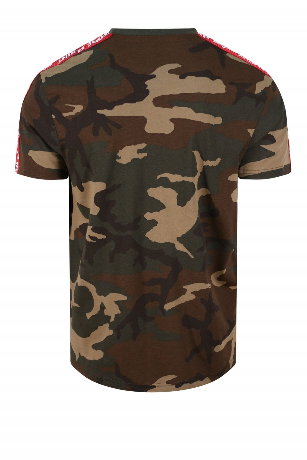 huge selection of 20b94 56f38 Remove Before Flight Taped Woodland Camo T-Shirt