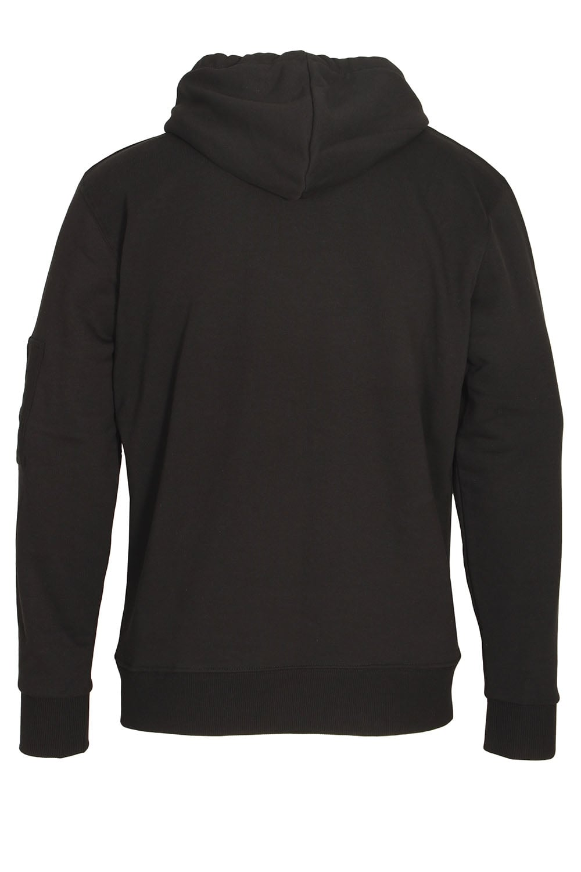 alpha industries x fit pullover hoody black shop alpha. Black Bedroom Furniture Sets. Home Design Ideas