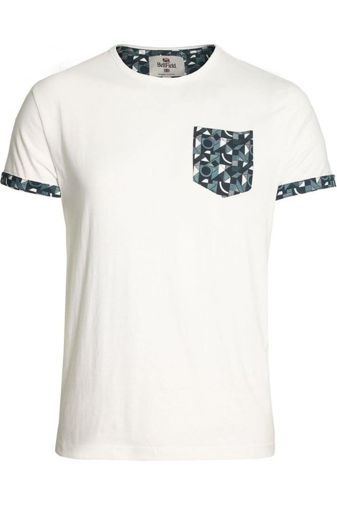 BELLFIELD Addict Pocket T-Shirt White