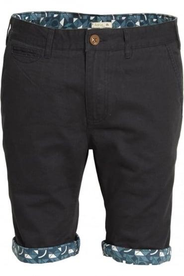 Felsham Turn Up Printed Chino Shorts