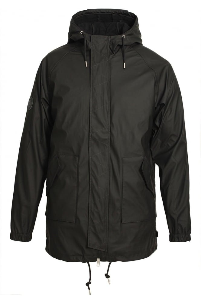 BELLFIELD Horrow Black Men's 2 in 1 Rain Jacket