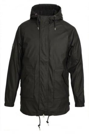 Horrow Black Men's 2 in 1 Rain Jacket