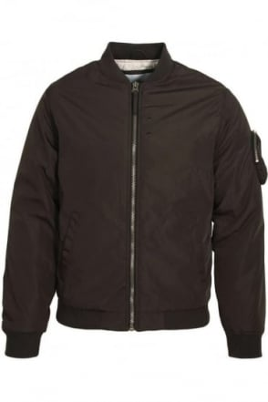Hubble MA1 Bomber Jacket Black