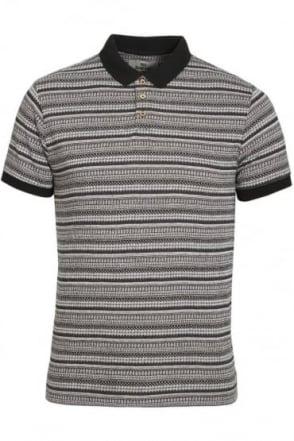 Paddy Jacquard Print Polo Shirt