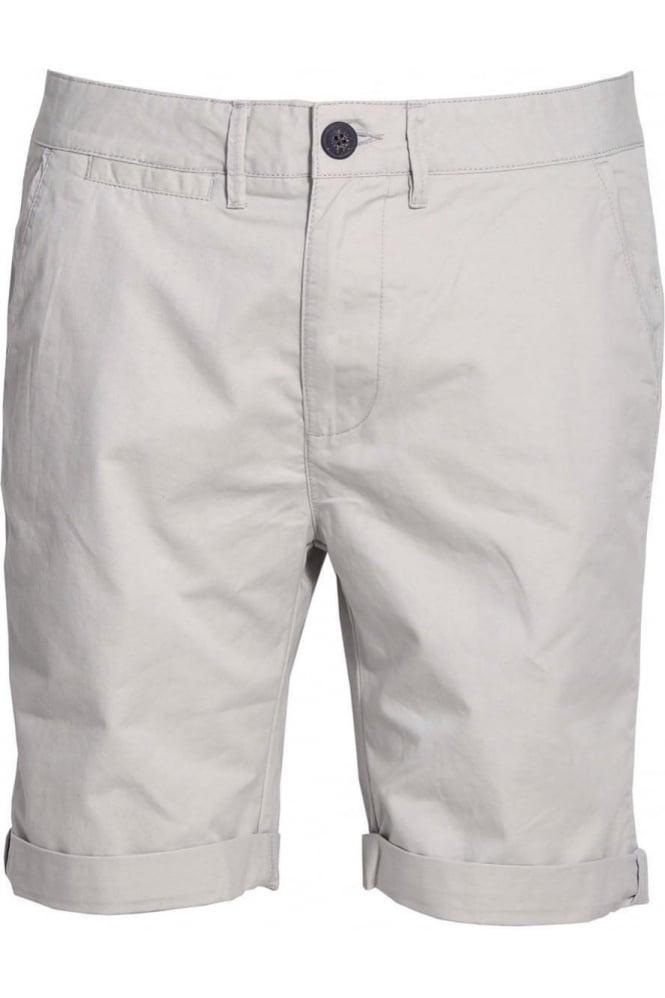 BELLFIELD Polstead Chino Shorts Light Grey