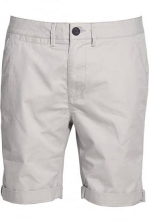 Polstead Chino Shorts Light Grey
