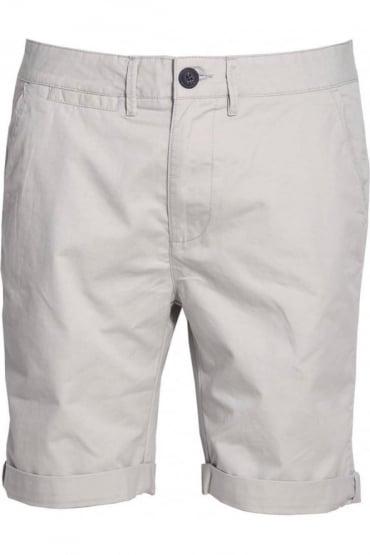 Polstead Chino Shorts Light Grey