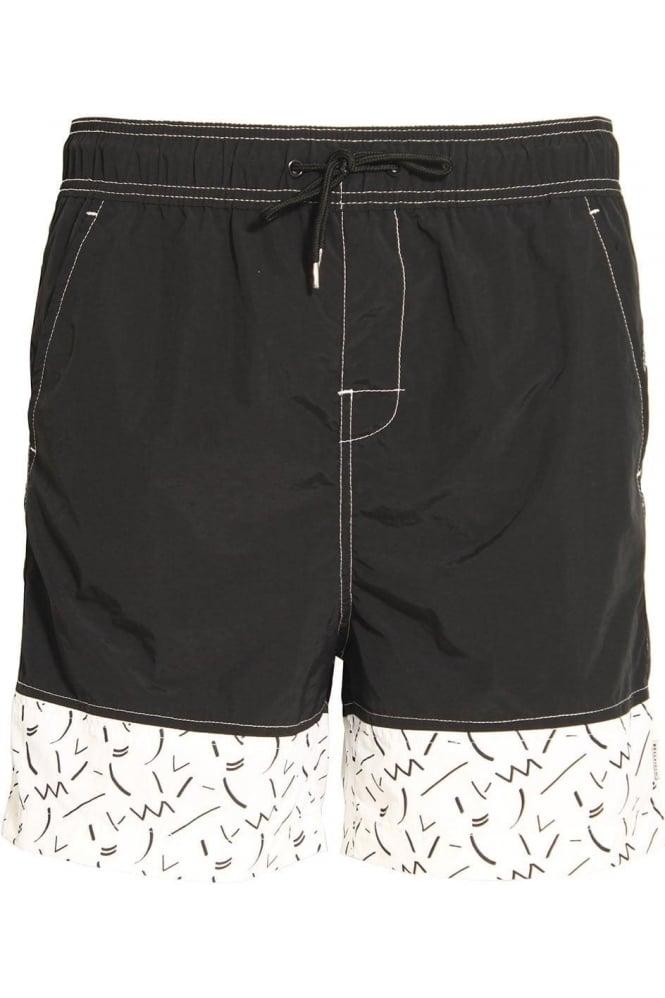 BELLFIELD Skoll Swim & Board Shorts Black