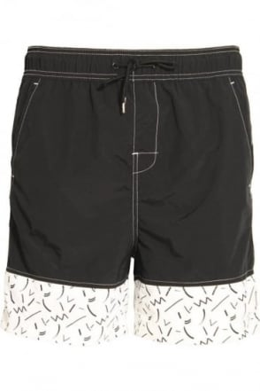 Skoll Swim & Board Shorts Black