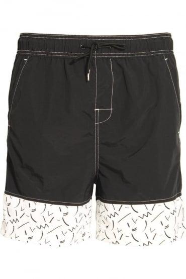 Skoll Swim & Board Shorts Black