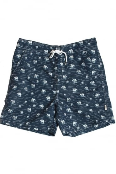 Strickland Swim Shorts Navy