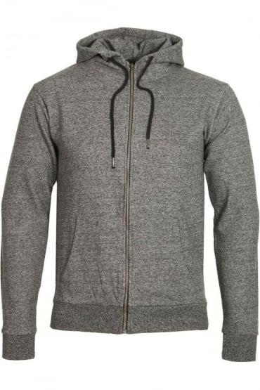 Tilbury Zip Through Hoodie Charcoal