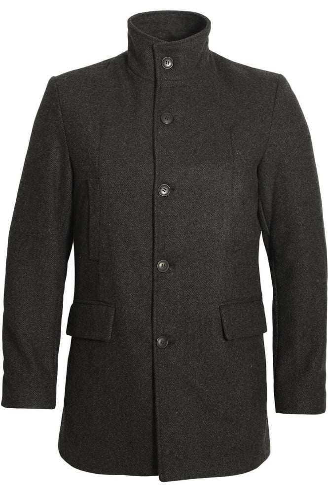 BELLFIELD Vektor Men's Military Jacket | Charcoal