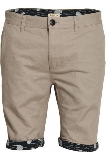 Walton Printed Turn Up Chino Shorts