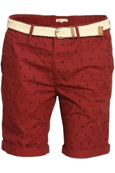 Whepstead Ditzy Print Shorts with Belt