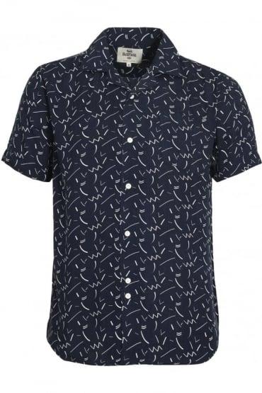 Willems Short Sleeve Shirt Navy