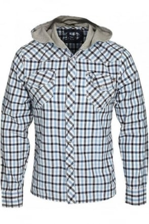 Long Sleeve Checkmate Shirt | Blue