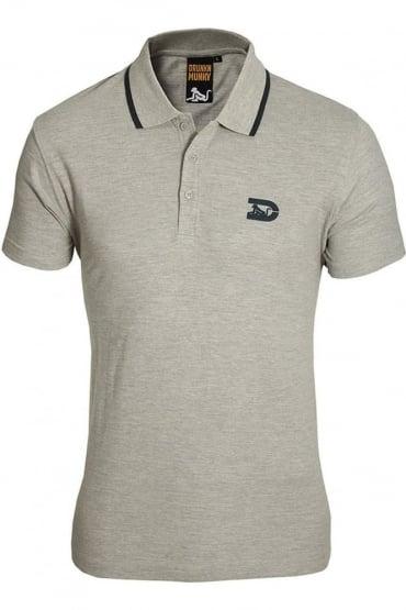 Polo Shirt | Navy & Grey