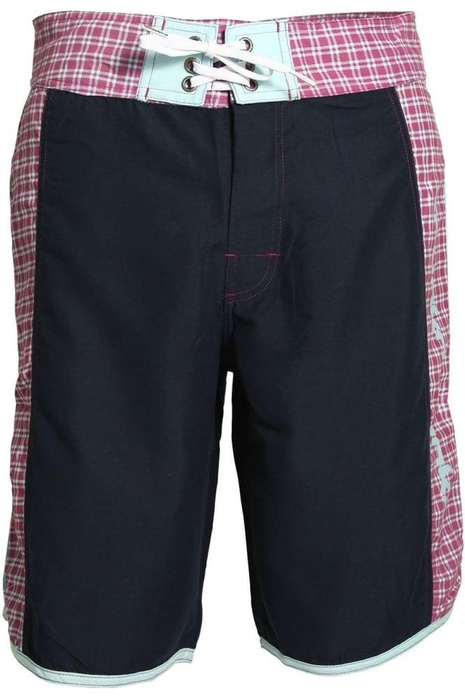 DRUNKNMUNKY Splash Down Board Shorts | Navy