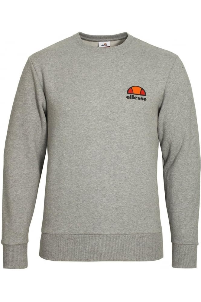 ELLESSE Diveria Crew Neck Sweatshirt Marl Grey