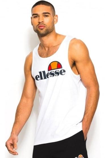 Frattini Men's Gym Vest   Optic White