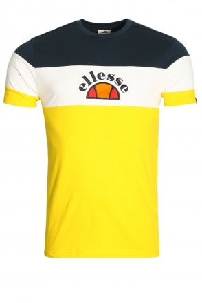 c40b1105 Ellesse Prado Light Yellow T-Shirt | Buy Ellesse T-Shirts & Sportswear