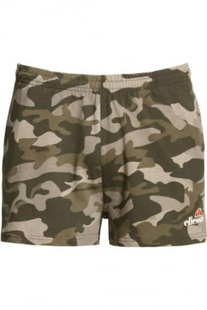Ribollita Men's Gym Shorts Woodland Camo