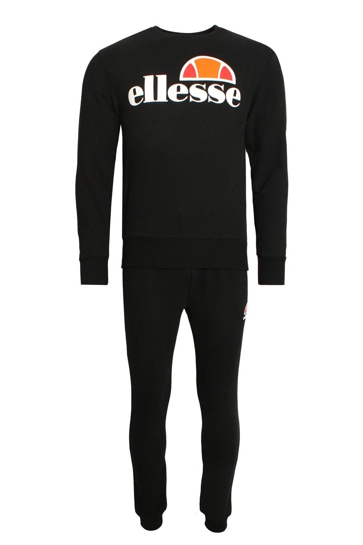 ELLESSE Succiso Sweatshirt Tracksuit | Black