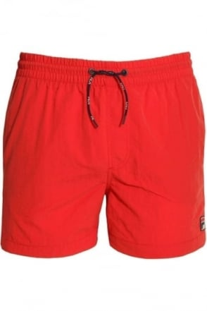 Artoni Swim Shorts Chinese Red