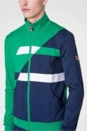 FILA VINTAGE Azzaro Assy Panel Track Jacket | Kelly Green