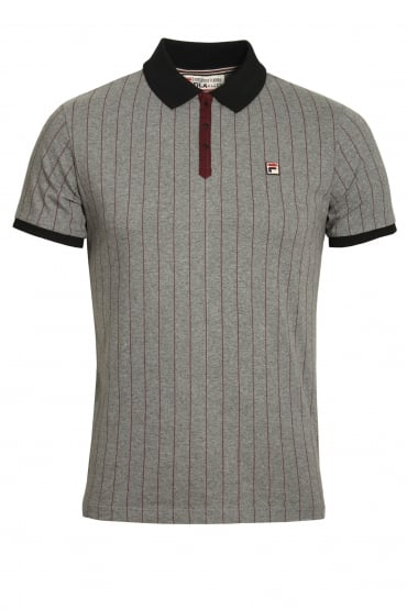 BB1 Polo Shirt | Grey Twist