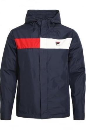 Cardova Hooded Jacket Peacoat