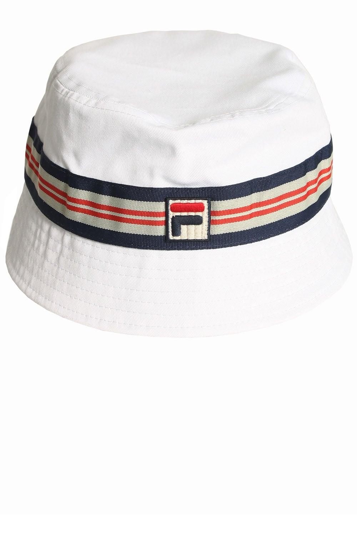 dfa6b7744 FILA VINTAGE Caspar Bucket Hat White