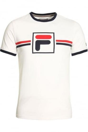 Corones Crew Neck T-Shirt | White