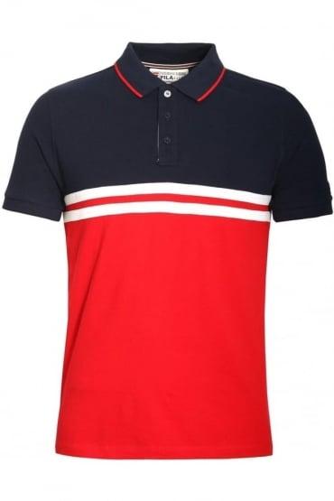 Domeneco Cut & Sew Block Polo Shirt