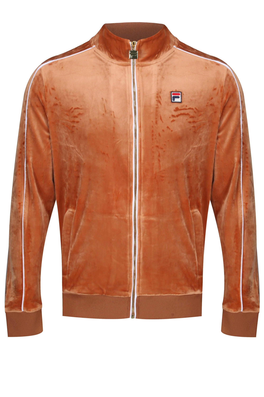 Fila Men/'s Lineker Zip Front Track Jacket