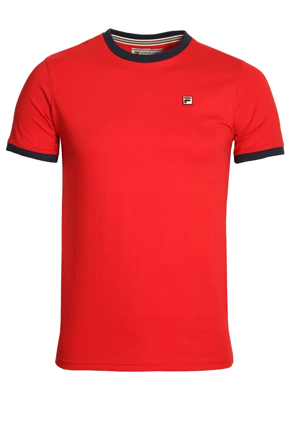 Marconi Essential Ringer T-Shirt Chinese Red d5f6f57ccc49