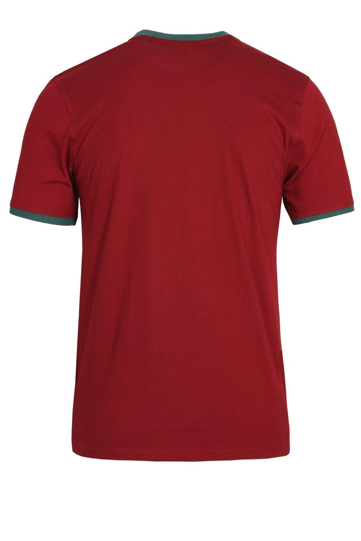93654c97234d Fila Vintage Marconi Essential Ringer Tibetan Red T-Shirt