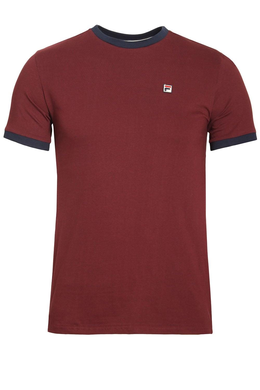 b737ddbd8c40 Fila Vintage Marconi T-Shirt Rum Raisin