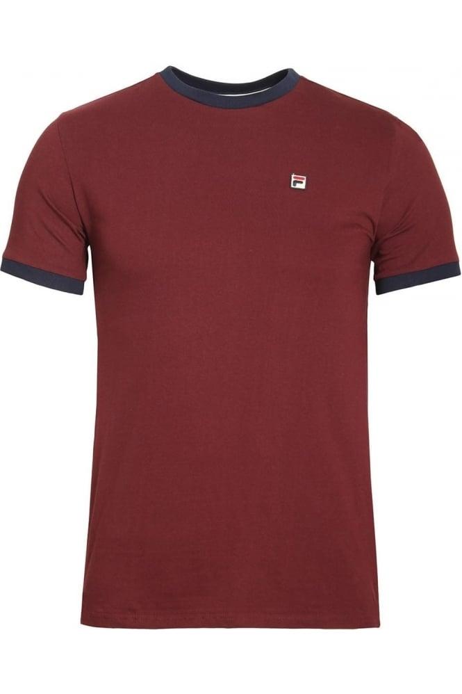 FILA VINTAGE Marconi T-Shirt | Rum Raisin
