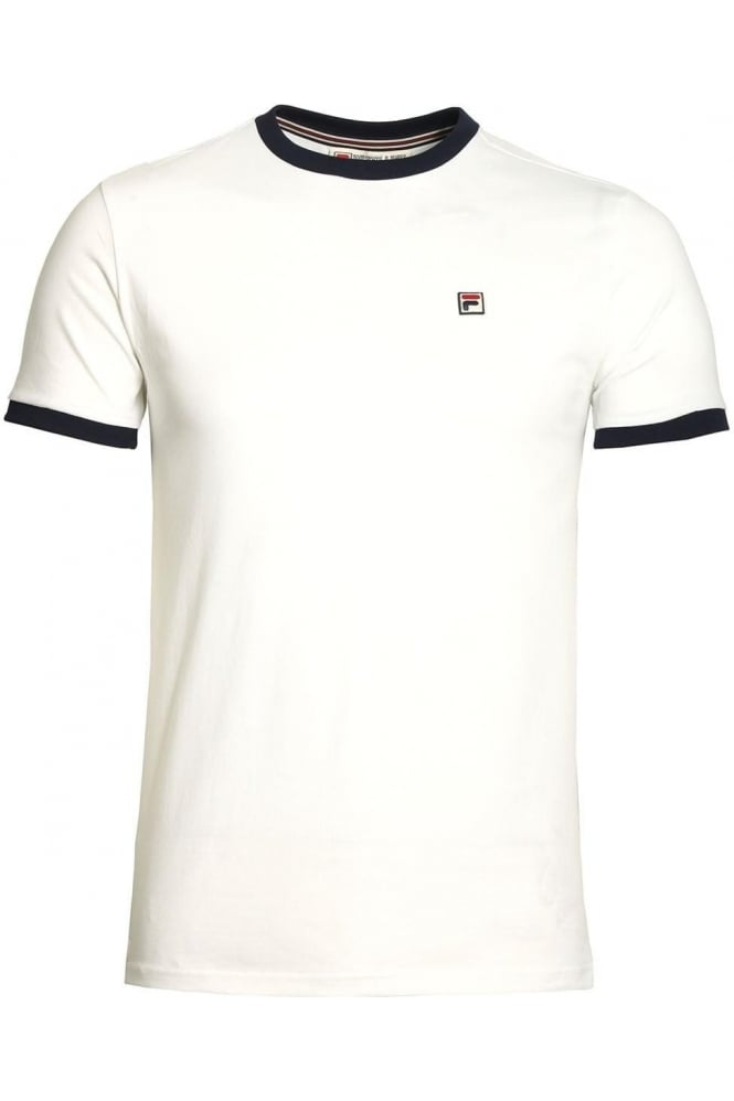 FILA VINTAGE Marconi T-Shirt | White
