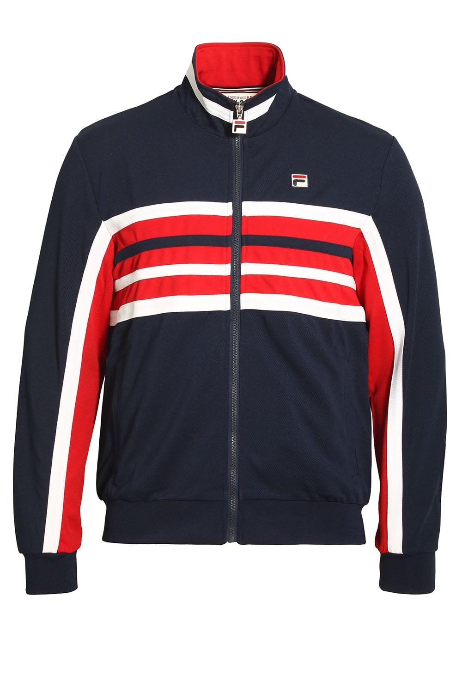 d2f2abc67730 Fila Vintage Monti Track Jacket Peacoat