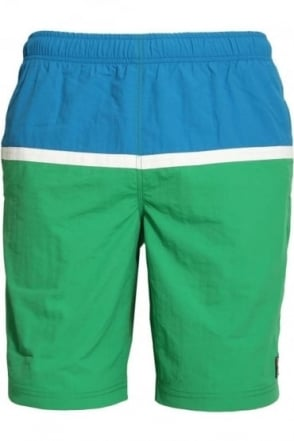 Nargiso Panel Shorts Kelly Green
