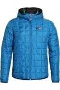 FILA VINTAGE Passo Puffa Jacket | Ski Blue