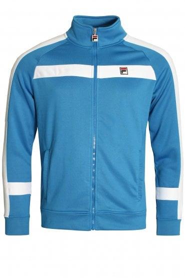 263f7a01 Renzo Stripe Track Jacket | Directoire Blue/White New Arrival. FILA VINTAGE  ...