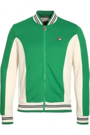 Settanta Baseball Jacket Kelly Green