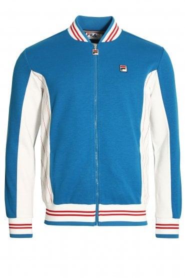 c031754f Settanta Baseball Track Jacket | Directoire Blue/White. FILA VINTAGE ...