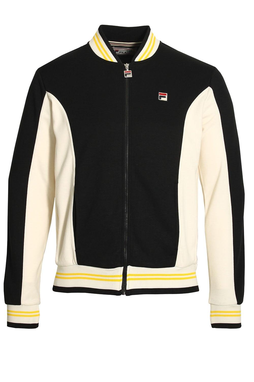 black fila jacket